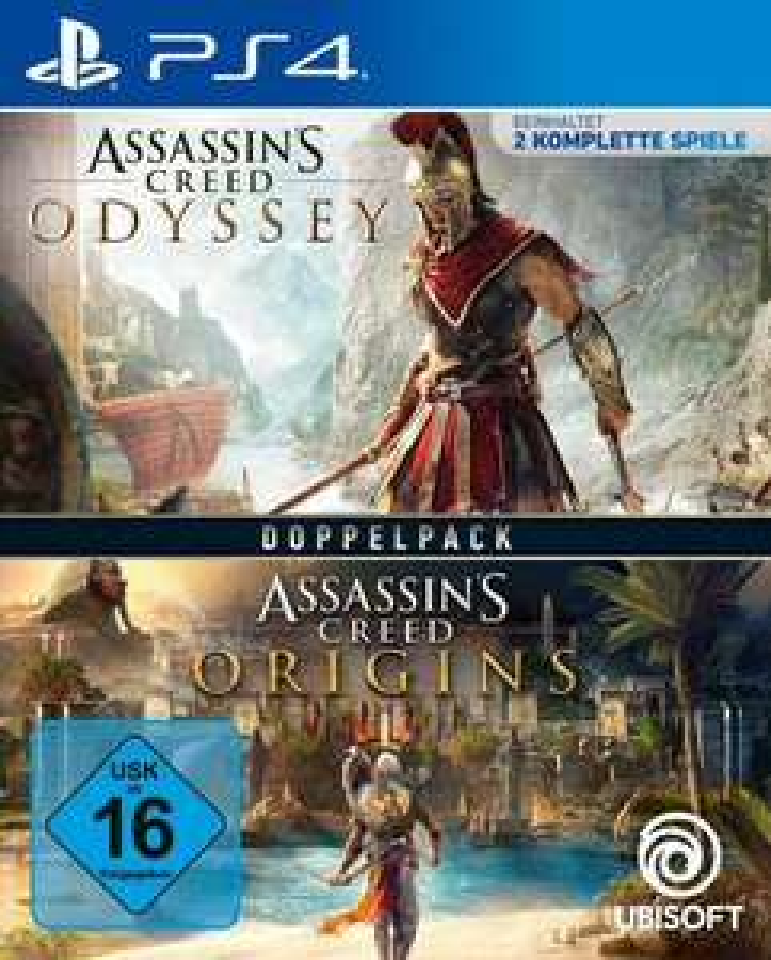 [OTTO & Amazon] Assassins Creed Odyssey + Origins (PS4/PS5 / XBOX) im Doppelpack