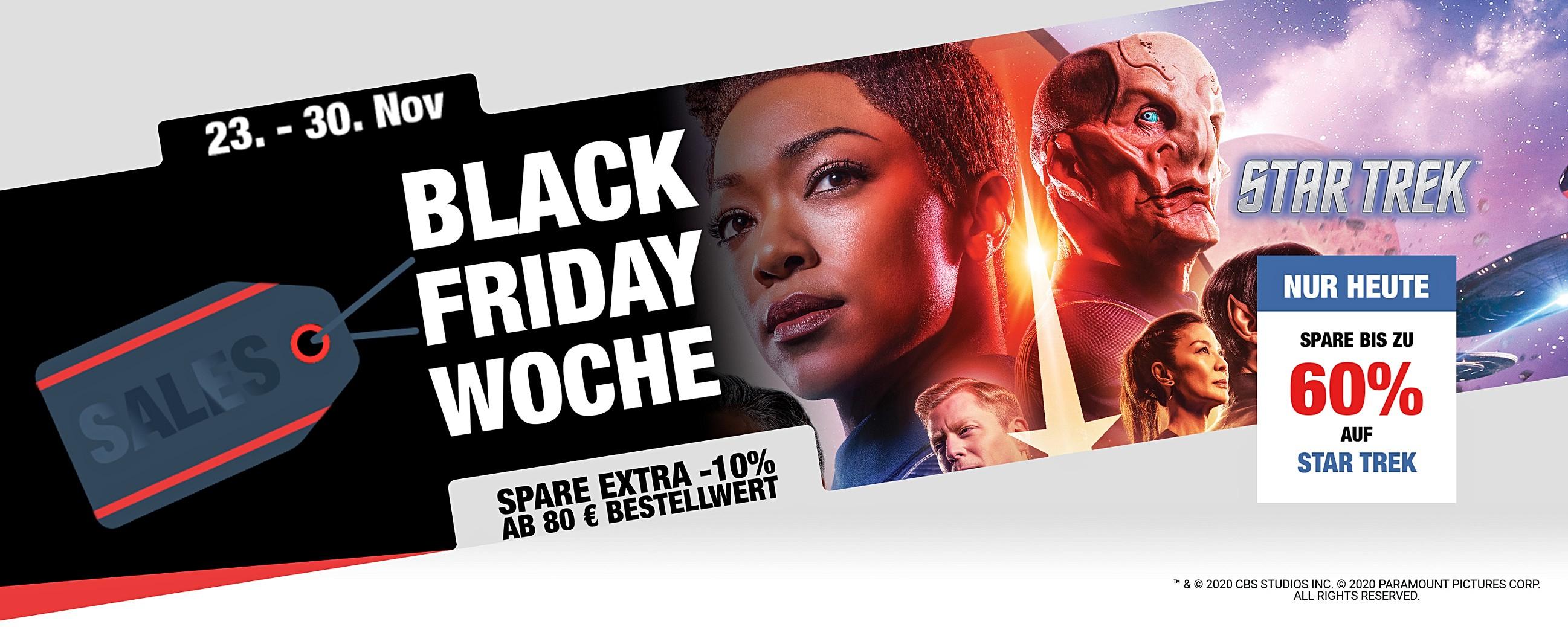 Eaglemoss: Black Friday Angebote - Star Trek Sale, z. B. vergoldetes U.S.S. Enterprise Modell für 22 statt 55 €