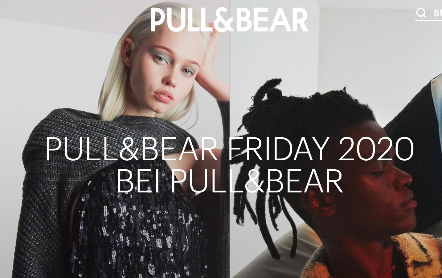 PULL&BEAR Black Friday 20% Rabatt auf ALLES