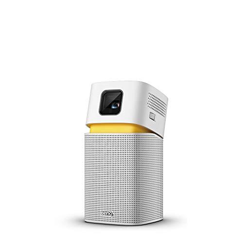 [Amazon.es] Ultramobiler BenQ Mini Beamer GV1 mit Bluetooth Lautsprecher, WLAN, HDMI auf USB-C-Verbindung, 3h Akkubetrieb