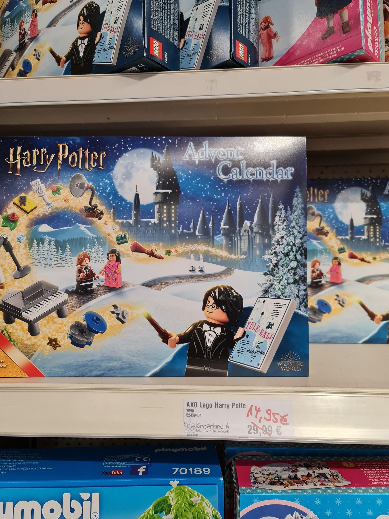 (lokal) Lego Harry Potter Adventskalender 75981 Ahaus Kinderland