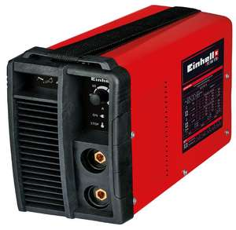Norma-Online: Einhell Inverter-Schweißgerät TC-IW 170 (Schweißstrom 20-150 A, WIG-Schweißen 30-170 A, stufenlos regelbarer Schweißstrom)