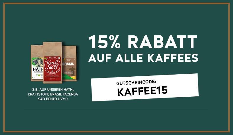 [Plaisir Kaffeemanufaktur] 15% auf Kaffee
