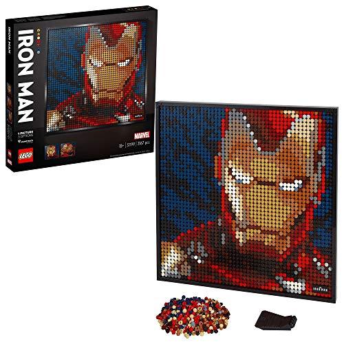 [amazon] LEGO 31199 Art Marvel Studios Iron Man