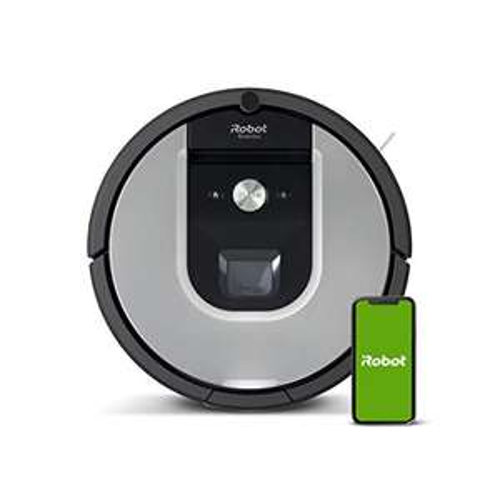 iRobot Roomba 971 Saugroboter mit starker Saugkraft, 3-stufigem Reinigungssystem, Raumkartierung, Zwei Multibodenbürsten