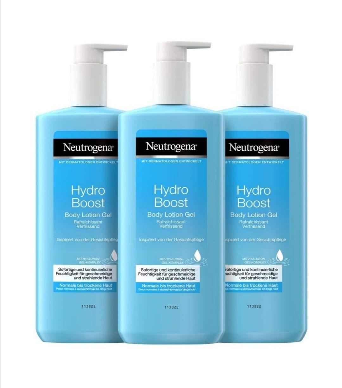 Neutrogena Hydro Boost 3x [Amazon Prime] mit 15% Sparabo 8,49 möglich