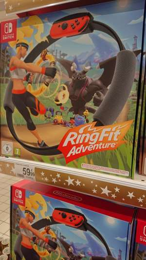 LOKAL Luxemburg Nintendo Ring Fit Adventure