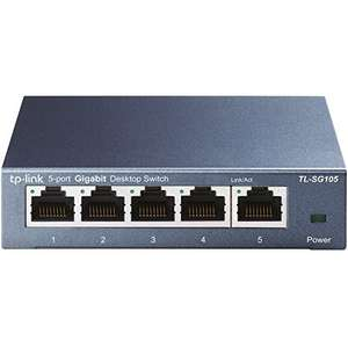 TP-Link TL-SG105 5-Ports Gigabit Netzwerk Switch (prime)