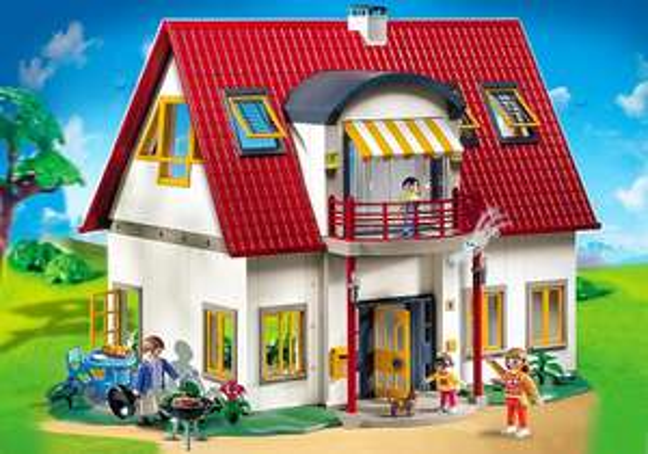 NUR HEUTE! Playmobil Citylife - Neues Wohnhaus 4279