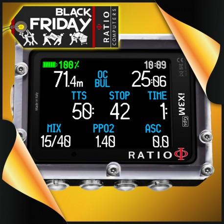 RATIO Tauchcomputer iX3M GPS Tech+, iDive Dolor Deep und Sport Deep