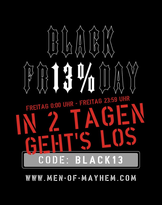 Men of Mayhem Gutschein 13% auf Alles