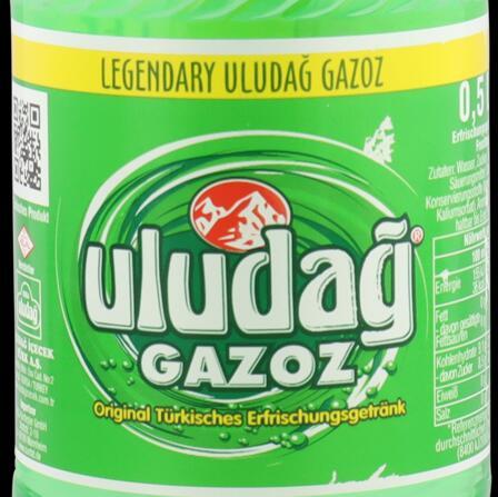 0,5l Uludağ Gazoz Erfrischungsgetränk mit Fruchtgeschmack (1,5€/l)