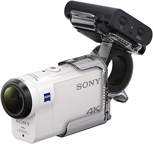 Sony FDR-X3000 4K Action Cam mit Remote Fernbedienung und Fingergriff