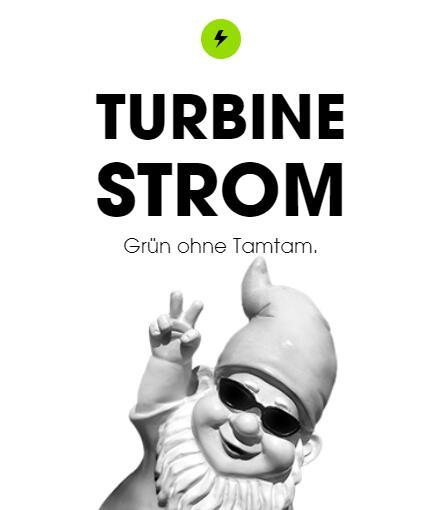 Turbine Energie Strom und Heizstrom | KWK verdoppelt | 30€ für Werber / 30€ für Geworbenen