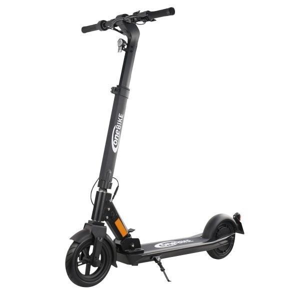 OneBike ES 350 Pro E-Scooter (eKFV-Straßenzulassung, 350W, 20km/h, 15.6Ah-Akku bis 50km Reichweite, Display im Lenker, klappbar, 19.4kg)