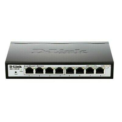 D-Link DGS-1100 Desktop Gigabit Smart 8-Port Switch, 8x RJ-45, (DGS-1100-08), Bestpreis?