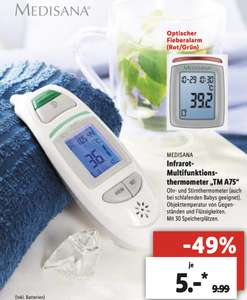 MEDISANA Multifunktions-Thermometer TM A75 [Lokal Lidl Teltow]