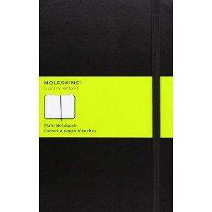 Moleskine Plain Notebook A5 Notizbuch [UK oder Amazon.de]