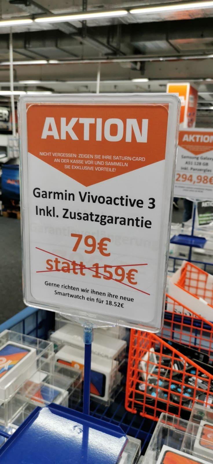 [Lokal - Lünen - Saturn] Garmin vivoactive 3