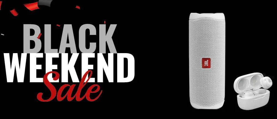 Black Weekend Bundle: JBL Live Free NC+ TWS & JBL Flip 5 für 169€ (reguläre Zahlungsarten) bzw. 119€ (0%-Finanzierung)