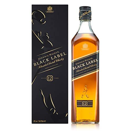 Johnnie Walker Black Label Blended Scotch Whisky 0,7l - Amazon Blitzangebot [Prime]