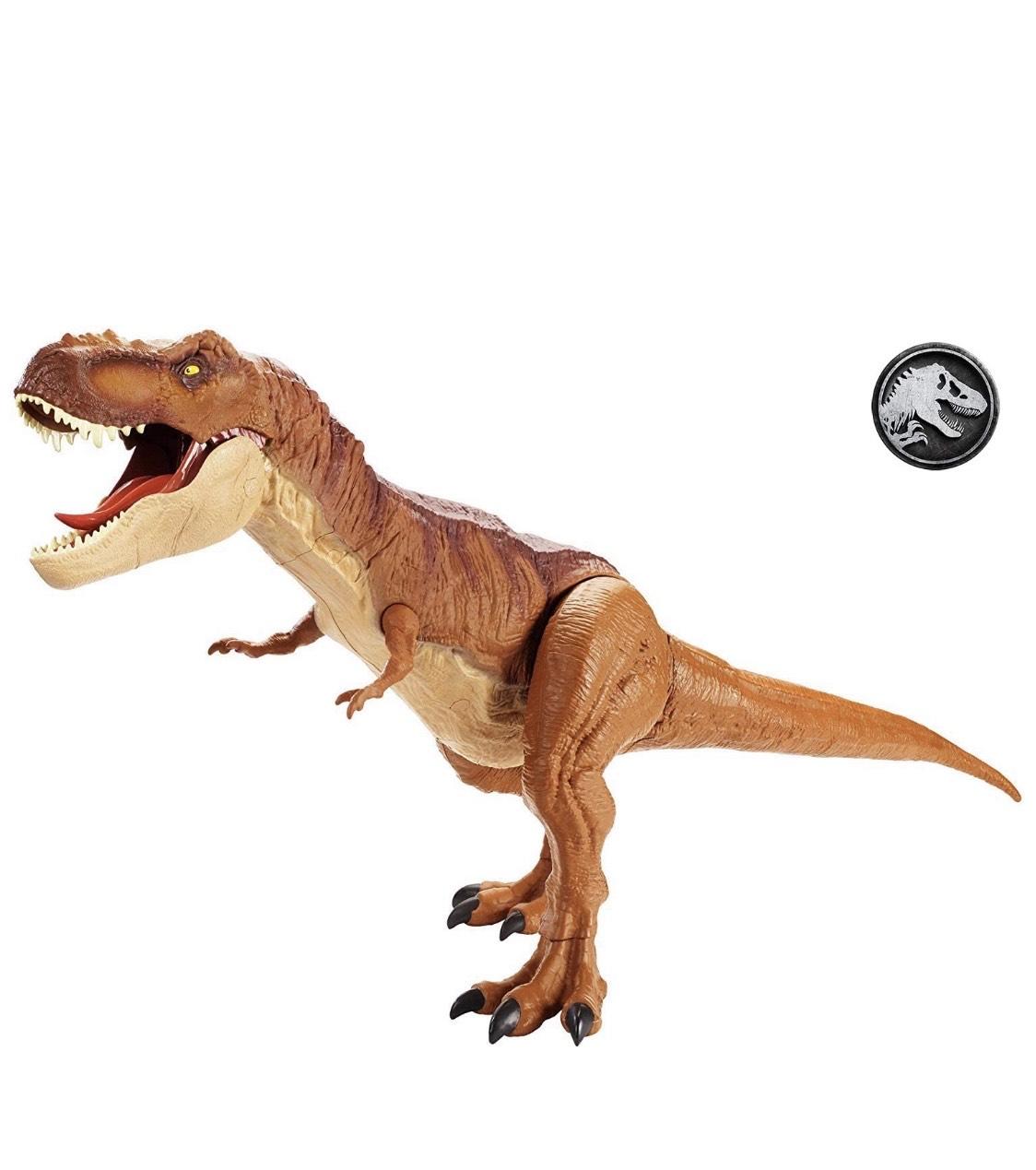 Mattel FMM63 Jurassic World Riesendino T-Rex Tyrannosaurus Rex 90 cm