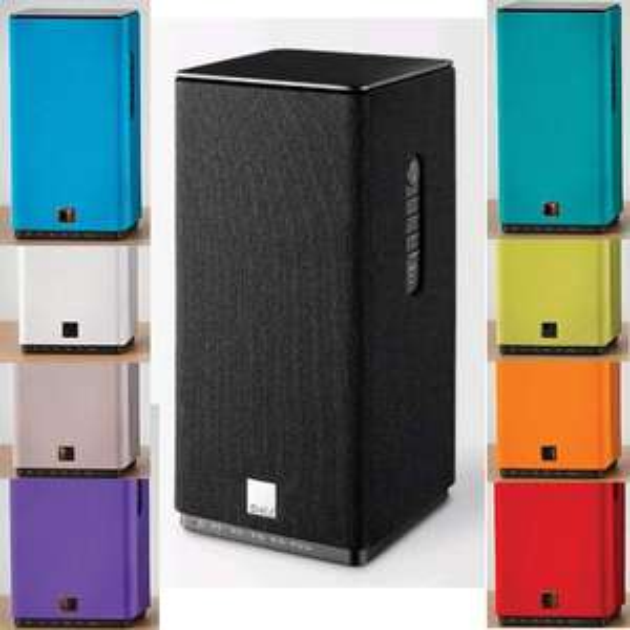Aktivlautsprecher Dali Kubik Free inkl. Tragetasche verschiedene Farben, integrierter Class D-Verstärker, Bluetooth apt-x, Aluminiumgehäuse