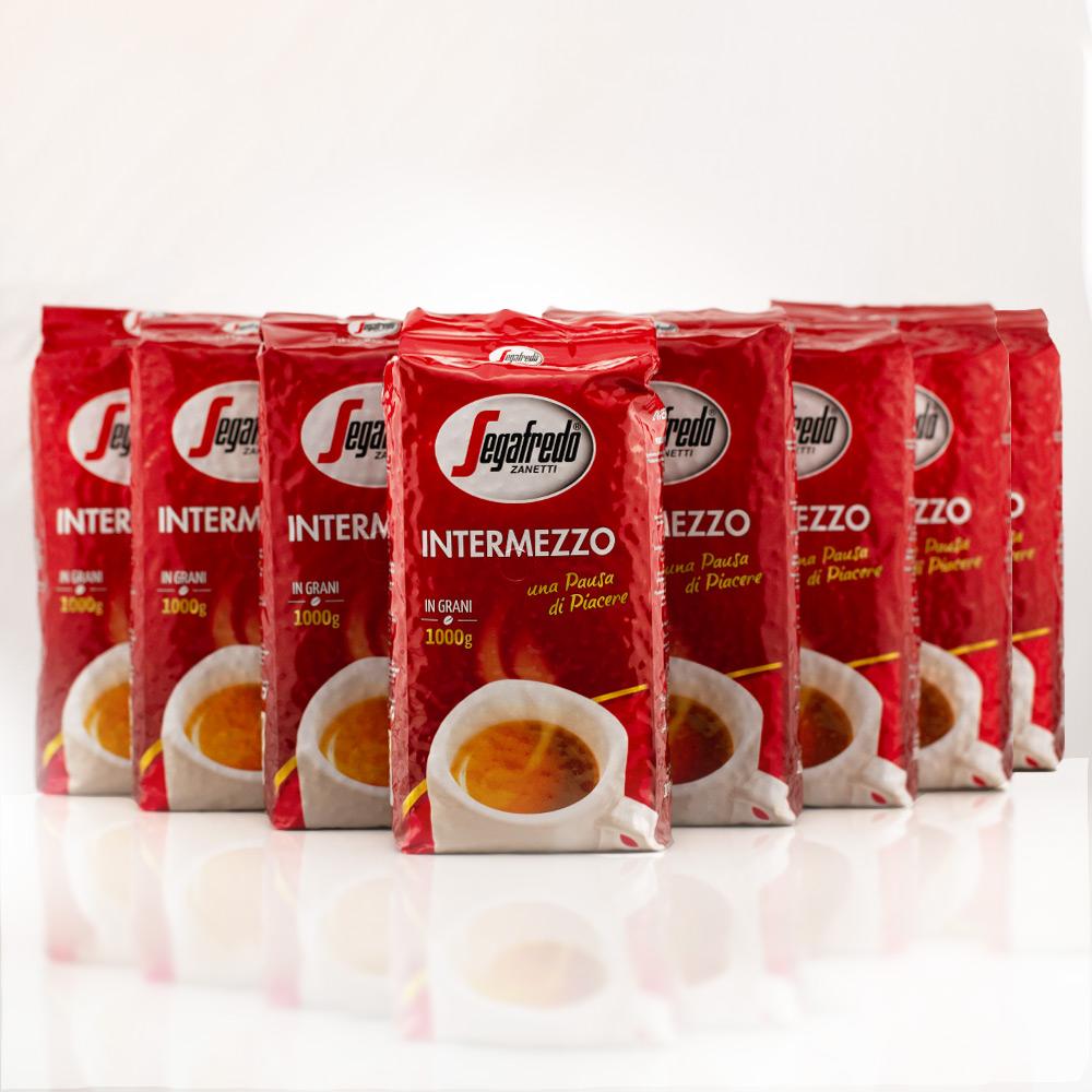 Segafredo Intermezzo für 7,49€/kg Kaffee ganze Bohne Vorteilspaket 8kg
