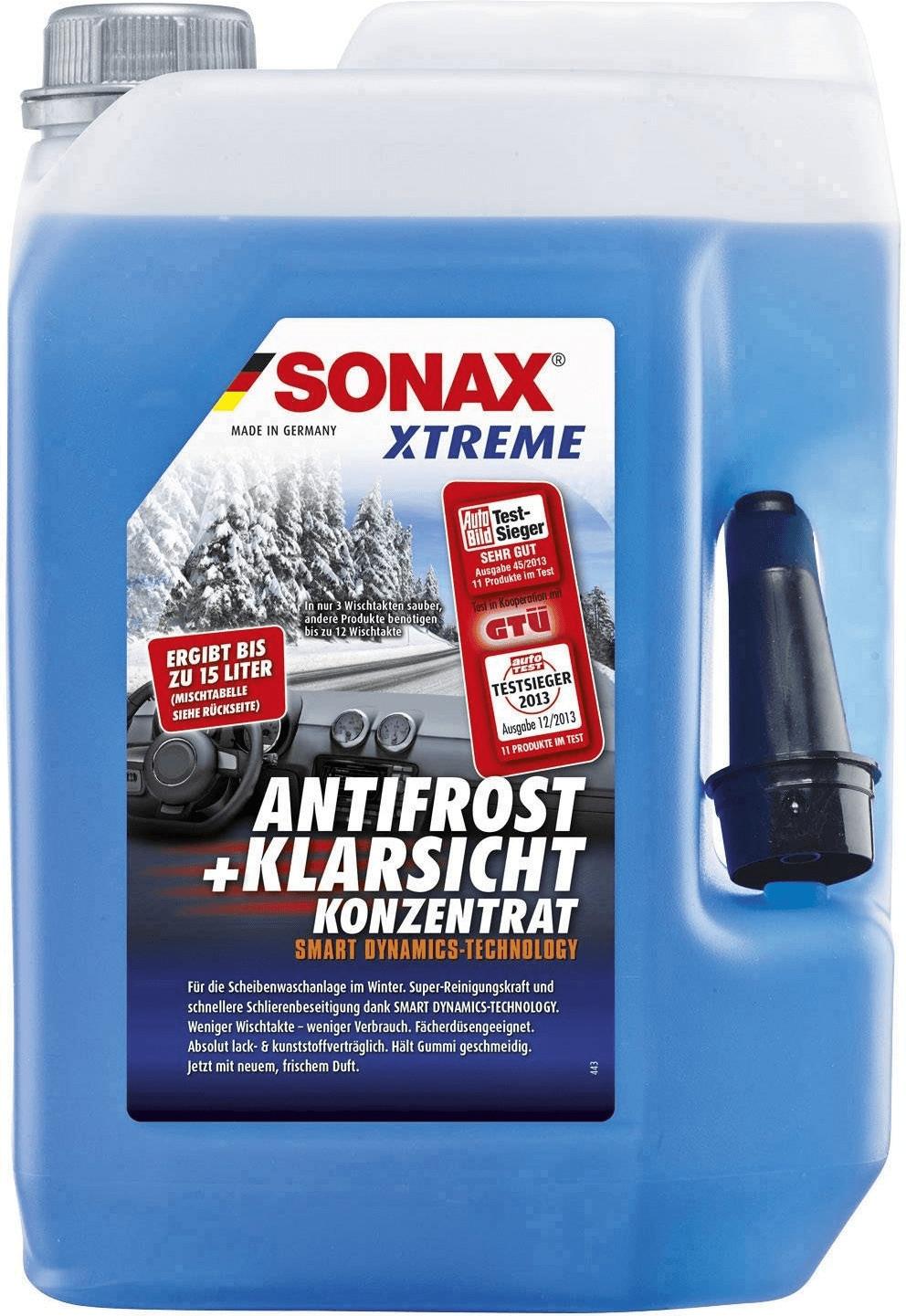 SONAX XTREME AntiFrost+KlarSicht Konzentrat (5 Liter) ergibt bis zu 15 Liter (Lokal Berlin kfzteile24)