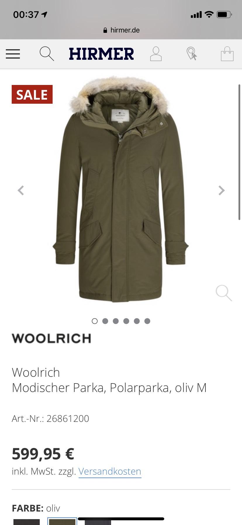 Woolrich Polar Parka olive