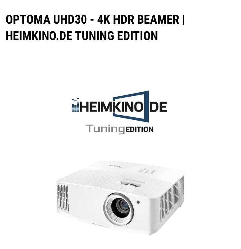 OPTOMA UHD30 | HEIMKINO.DE TUNING EDITION