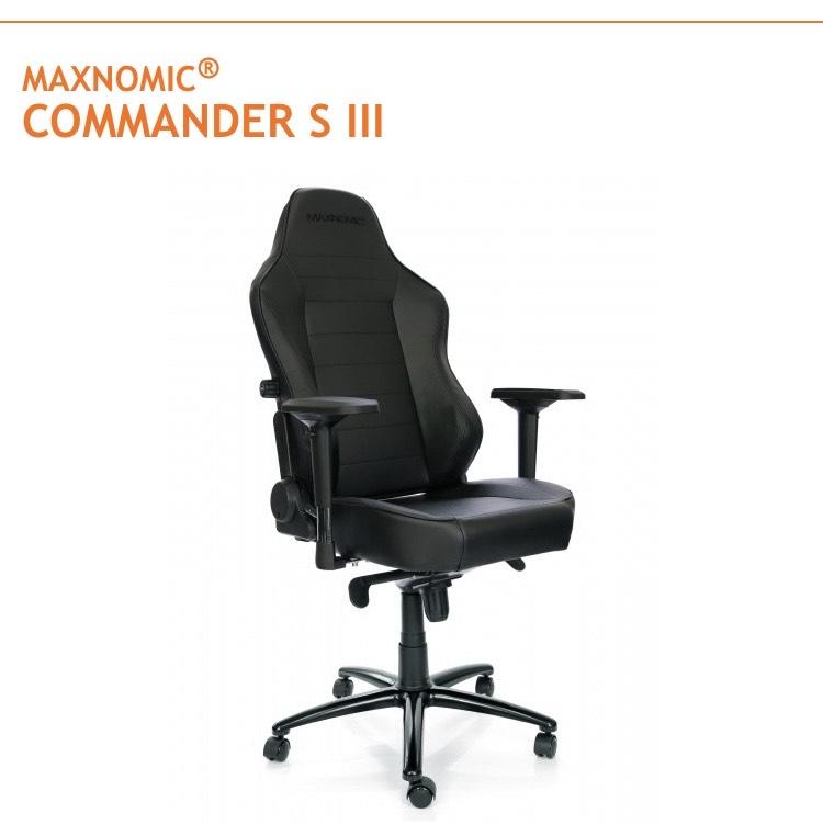 Need for Seat BF Sale mit 75€ Rabatt auf alle Gaming und Home Office Stühle- Commander SIII für 294€