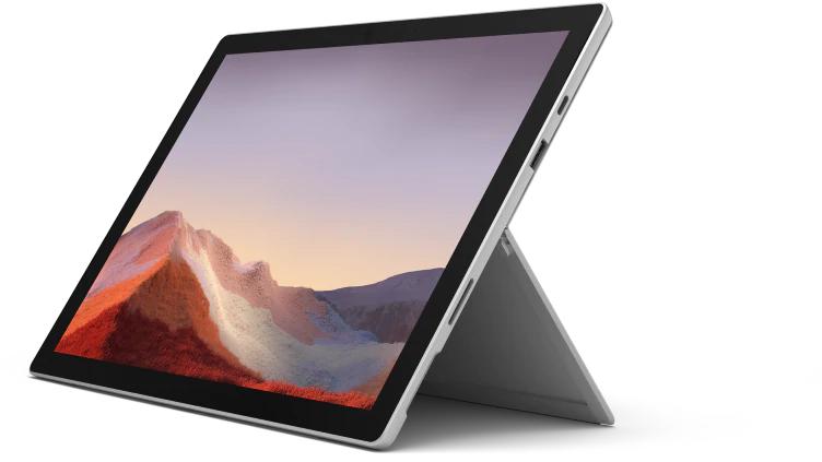 Microsoft Surface Pro 7 im MS Store