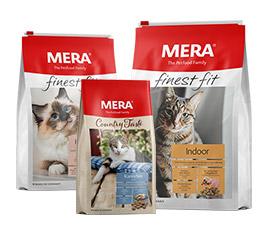 35% Rabatt auf alle Produkte im MERA Shop auf Hundefutter und Katzenfutter