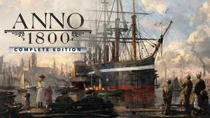 Anno 1800 Complete Edition bei Fanatical 30,99€ [uplay, Key, offizieler Reseller, Paypal möglich]