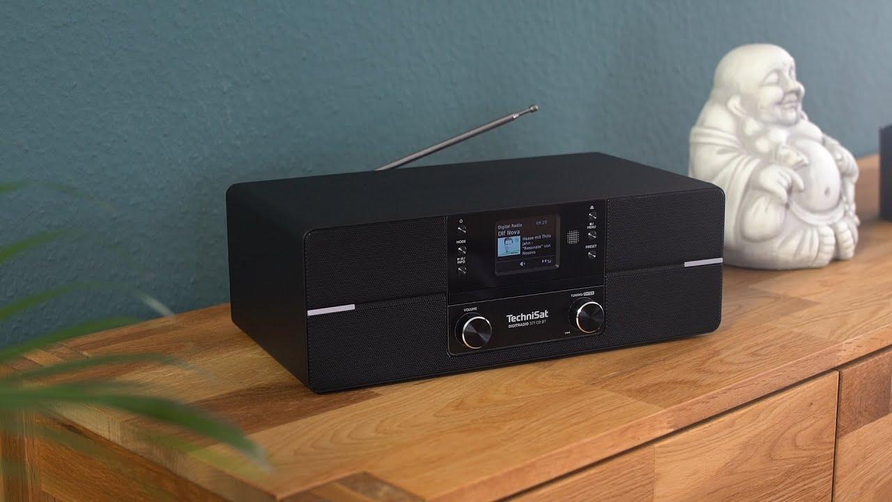 TechniSat DigitRadio 371 CD BT schwarz