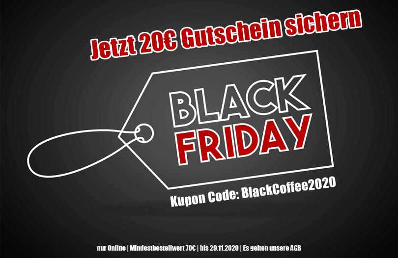 20€ Black Friday Gutschein auf Kaffee & Espresso SCHNEID-KAFFEE Rösterei MBW 70€