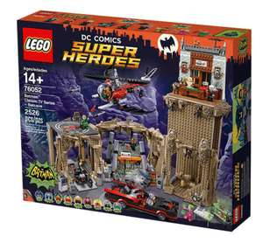 Lego und Hasbro Sale bei [zavvi]z.B. Lego DC Comics Super Heroes Bathöhle (76052)