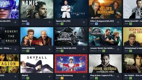 [BF] Prime-Video-Angebote: Filme für 3,98 Euro & Serien mit bis zu 50% Rabatt