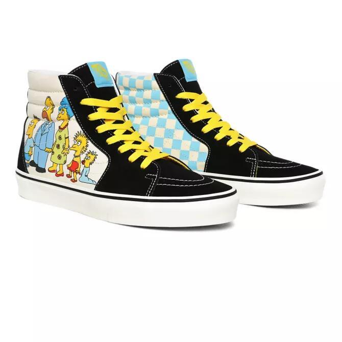 Vans The Simpsons SK8-HI Schuhe in den Größen 34,5 bis 46