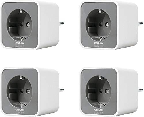 OSRAM Smart+ Plug, (2. Gen.) 4er Pack ZigBee