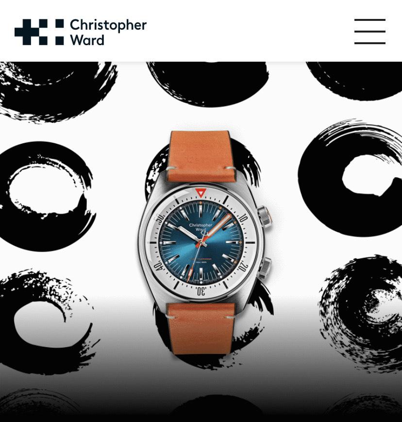 Christopher Ward Uhren 15% Black Friday