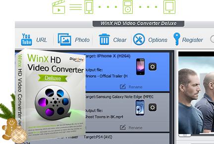 Black Friday Giveaway: WinX HD Video Converter Deluxe 5.16.1 gratis