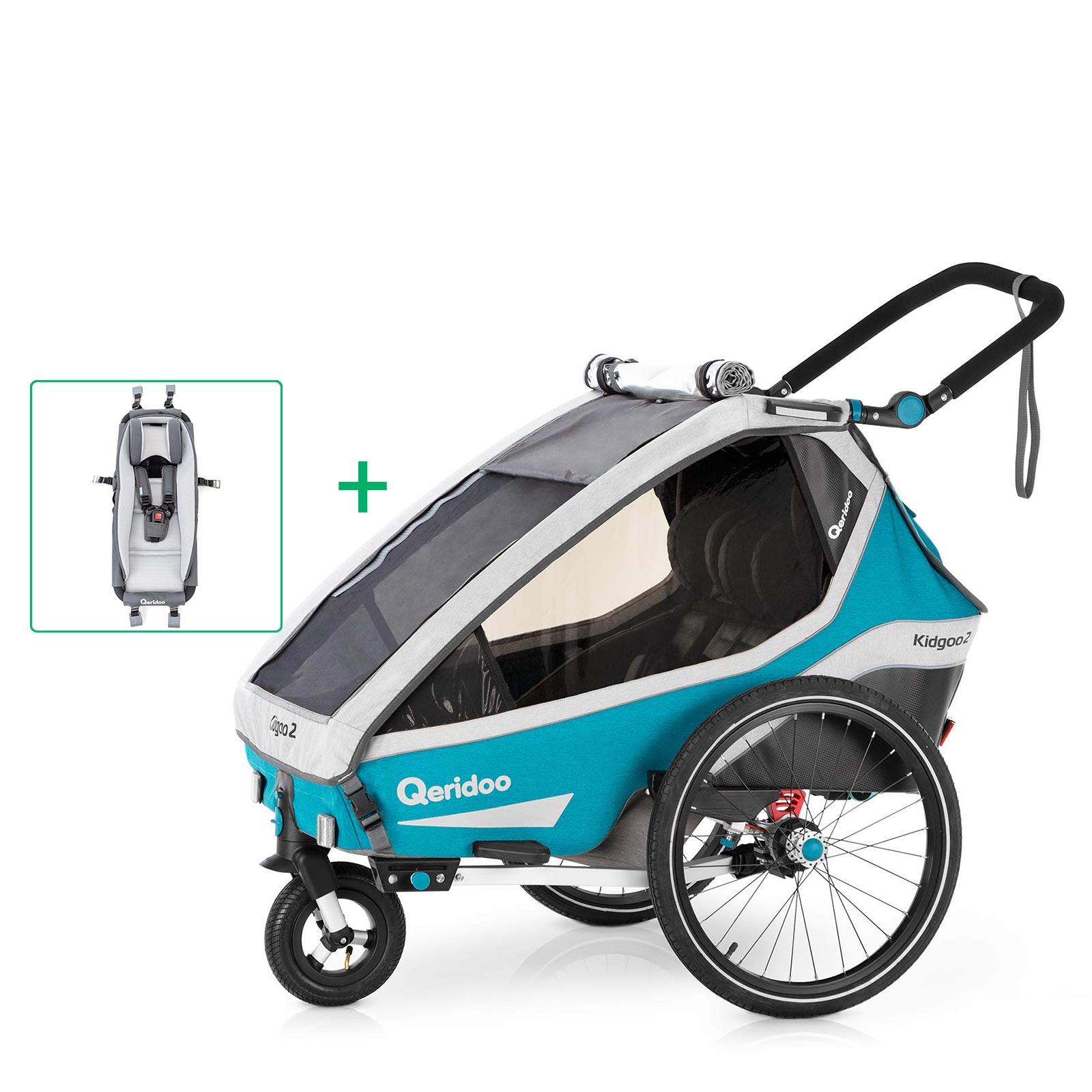 Black Week: Qeridoo Kidgoo 2 (2020) Baby-Set 499€/Qeridoo Speedkid 2 – petrol 2020 299€/ Ollo Bike 20 Zoll Kinderfahrrad 349€/
