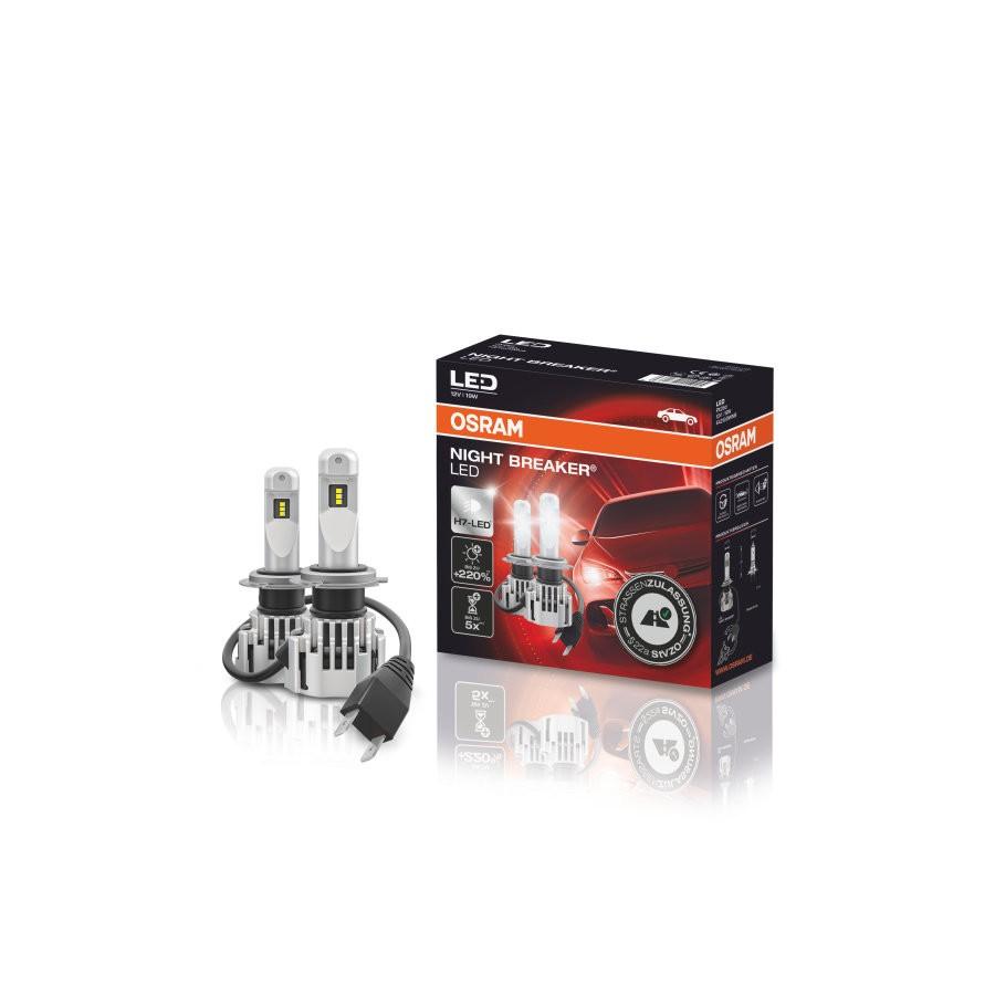 OSRAM NIGHT BREAKER H7-LED mit StVZO-Zulassung (Audi, VW,...)