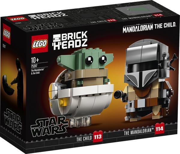 [Thalia] [NICHT LOKAL!!!] LEGO® Star Wars™ 75317 Der Mandalorianer™ und das Kind