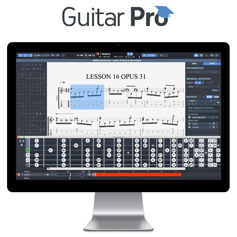 Guitar Pro 7.5 - Perfektes Tab Programm für alle Gitarristen