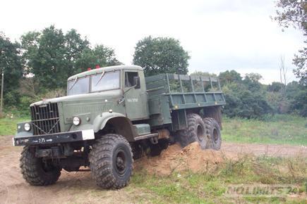 Kostenlos im Militär Truck mitfahren in Groß Bäbelin