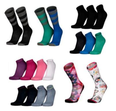 Sketchers Socken für Damen und Herren stark reduziert: 24er Packs für 26,95€, 48 Paar für 44,95€ sowie 12 Paar für 17,95€
