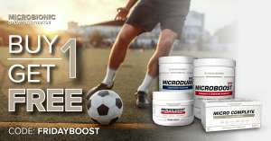 Buy 1 Get 1 FREE: Pre-Workout-Booster, Ausdauer-Booster oder Sportlervitamine
